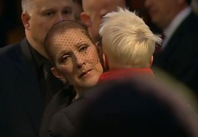 Sfâșietor! Celine Dion, ultima oară la căpătâiul soțului său