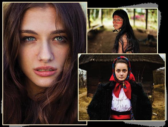 Frumusețea femeilor, surprinsă de o româncă într-un proiect fotografic inedit. FOTO