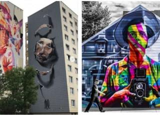 Cele mai spectaculoase locuri din lume cu artă stradală