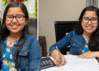 Cel mai inteligent om din lume este o fetiță de doar 11 ani. Are un IQ mai mare decât al lui Albert Einstein
