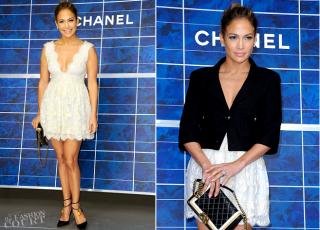 Jennifer Lopez, într-o rochie superbă, creaţie a unui designer român