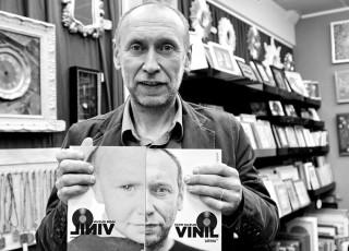 """Cartea """"VINIL"""", de Igor Guzun, un cadou simplu şi emoţionant de sărbători"""