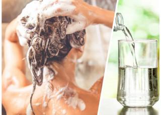 De ce să te speli pe cap cu apă minerală?